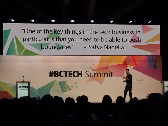 Pique Ventures at #BCTECH Summit 2018
